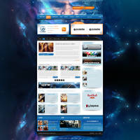 e-Sports Portal by trkwebdesign