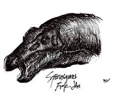 Iguanodon by LonelySpinosaurus