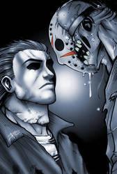Myers vs. Jason by theMASman