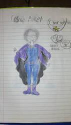 My hero Academia OC: Cosmo Planet by bepop34