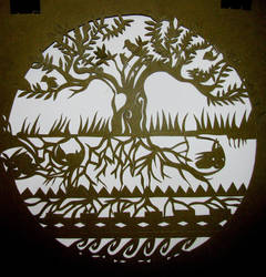 Tree of Life by Papel-picado34
