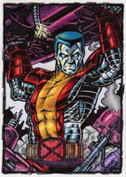Colossus Sketch Card by tonyperna
