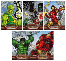 Iron Man 2 Cards B by tonyperna