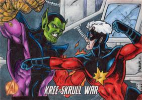 KSW Super Skrull Capt Mar-Vell by tonyperna