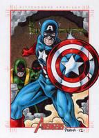 Captain America - MGH by tonyperna