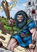 The Dagda - Classic Mythology by tonyperna