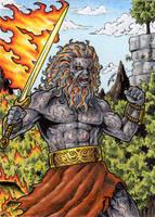 Surtr - Classic Mythology by tonyperna