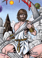 Kronos - Classic Mythology by tonyperna