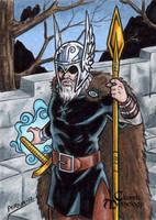 Odin - Classic Mythology by tonyperna
