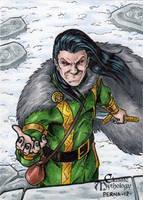 Loki - Classic Mythology by tonyperna