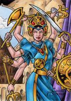 Durga - Classic Mythology by tonyperna