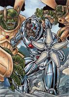 DC Comics 'The New 52' - Cyborg by tonyperna