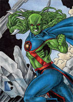 DC Comics 'The New 52' - Martian Manhunter by tonyperna