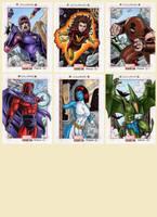 Marvel Bronze Age - X-Men Villains by tonyperna