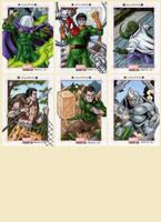 Marvel Bronze Age - Spider-Man Villains by tonyperna