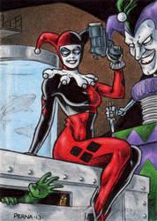 DC: Women of Legend - Harley Quinn by tonyperna