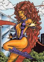 DC: Women of Legend - Starfire by tonyperna