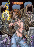 Witchblade Sketch Card 4 by tonyperna
