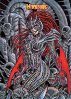 Witchblade Sketch Card 5 by tonyperna