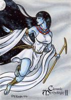 Nut Sketch Card - Classic Mythology II by tonyperna