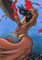 Sedna Sketch Card - Classic Mythology II by tonyperna