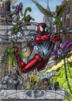 Scarlet Spider VS. Villains - Marvel Premier AP by tonyperna