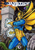 DC: Justice League - Dr. Fate by tonyperna