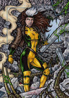 Rogue - Marvel Universe AP by tonyperna