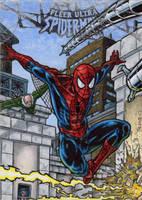 Spider-Man - Fleer Ultra Spider-Man by tonyperna