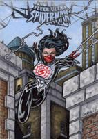 Silk - Fleer Ultra Spider-Man by tonyperna