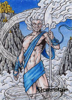 Elementals Sketch Card 7 by tonyperna