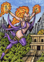 Elementals Sketch Card 4 by tonyperna