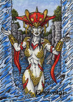 Elementals Sketch Card 3 by tonyperna