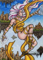 Elementals Sketch Card 2 by tonyperna