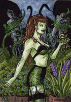 DC: Bombshells - Poison Ivy by tonyperna