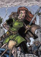 Nemain - Classic Mythology III by tonyperna