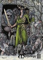 Hel - Classic Mythology III Card Art by tonyperna