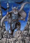 Odin - Classic Mythology AP by tonyperna