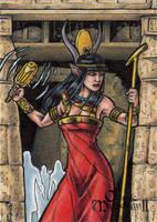 Hathor - Classic Mythology II AP by tonyperna