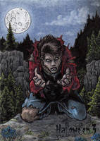 Hallowe'en 3 - Sketch Card 3 by tonyperna