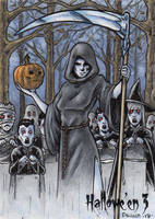 Hallowe'en 3 - Sketch Card 5 by tonyperna