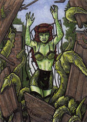 DC: Bombshells 2 - Poison Ivy by tonyperna