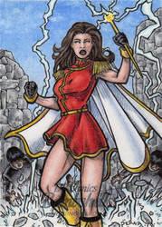 DC: Bombshells 2 - Mary Marvel by tonyperna