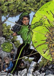 DC: Bombshells 2 - Green Lantern by tonyperna