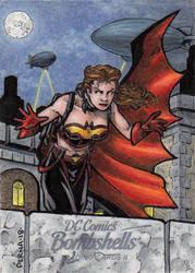 DC: Bombshells 2 - Batgirl by tonyperna