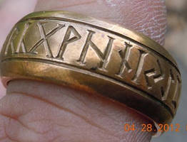 Rune ring by DustinDC