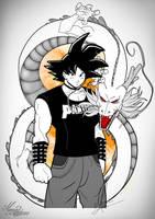 Goku _maria_latorre by marialatorreart