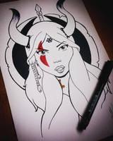 Viking_MariaLatorre by marialatorreart