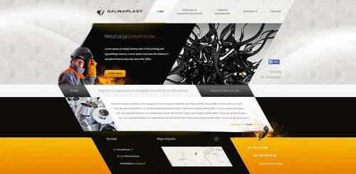 Galwaplast web design (WIP) by SycylianBeef