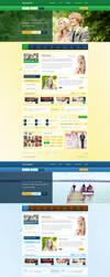 Organizuj Wesele - wedding portal web design by SycylianBeef